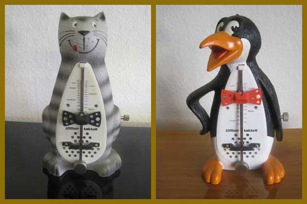Katze-Pinguin