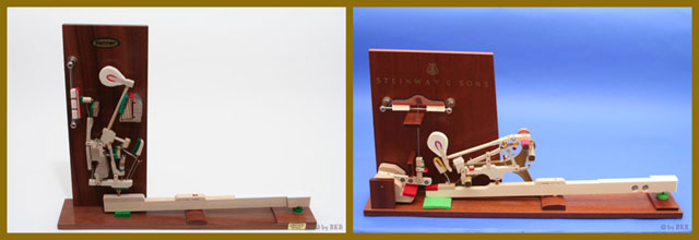 Klavier-Fluegelmodell