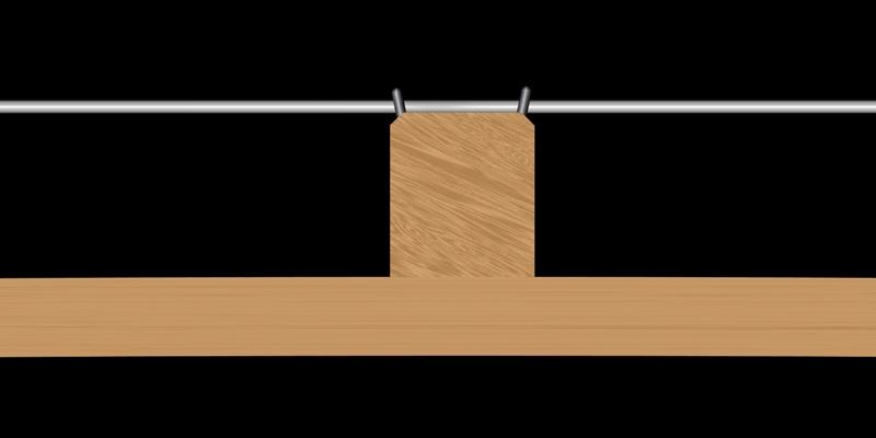 Steg-trocken