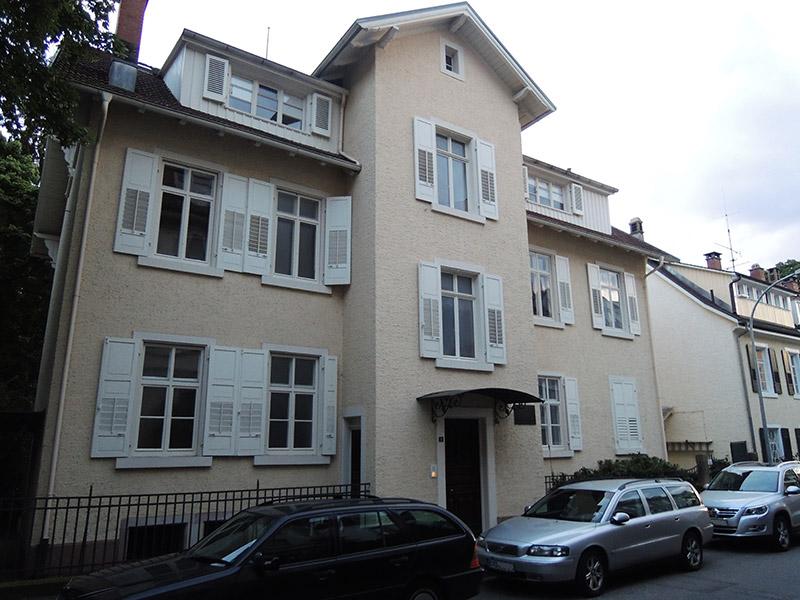 Claras Schumanns Haus in Baden-Baden Lichtental