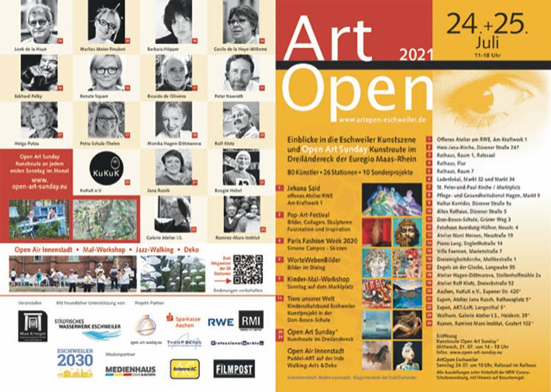 Art Open Flyer Seite 1