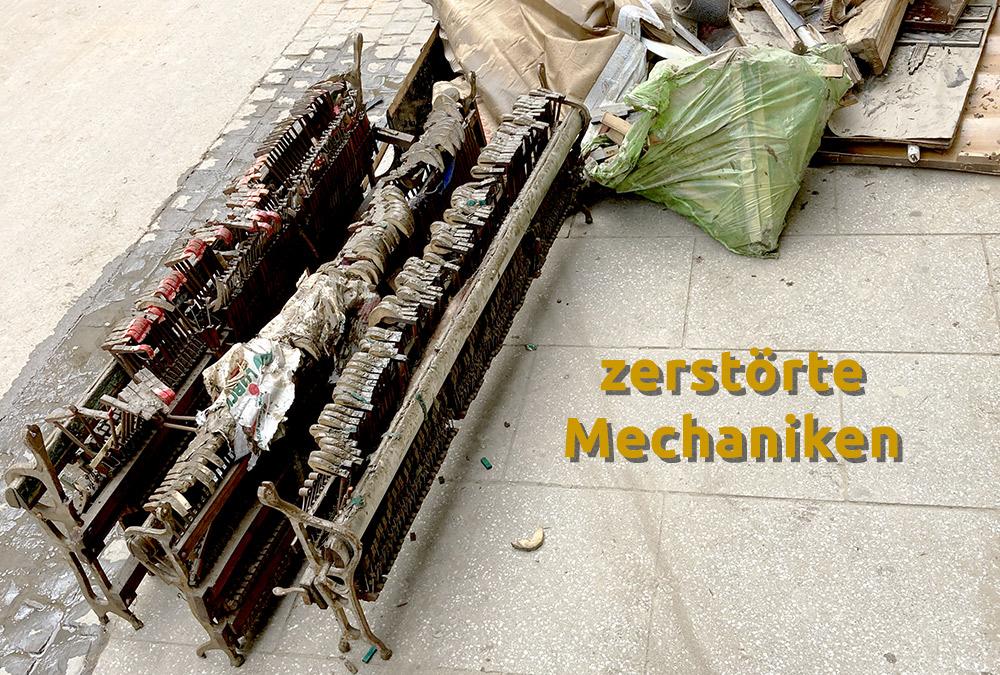 zerstörte Mechaniken